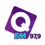 Logo da emissora Rádio Q  97.9 FM