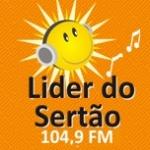 Logo da emissora Rádio Líder do Sertão 104.9 FM