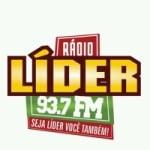 Logo da emissora Rádio Líder 93.7 FM