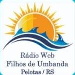 Logo da emissora Rádio Filhos De Umbanda