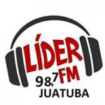 Logo da emissora Rádio Líder FM Juatuba