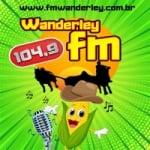 Logo da emissora Rádio Wanderley 104.9 FM