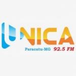 Logo da emissora Rádio única 92.5 FM