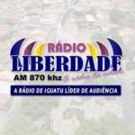 Logo da emissora Rádio Liberdade 870 AM