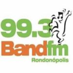 Logo da emissora Rádio Band 99.3 FM