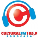 Logo da emissora Rádio Cultural 105.9 FM