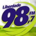 Logo da emissora Rádio Liberdade 98 FM