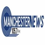 Logo da emissora Rádio Manchester News 105.7 FM
