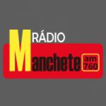 Logo da emissora Rádio Manchete 760 AM