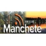 Logo da emissora Rádio Manchete 1160 AM