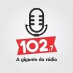 Logo da emissora Rádio Medianeira 102.7 FM