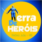 Logo da emissora Web Rádio Terra de Heróis