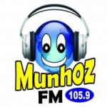 Logo da emissora Rádio Munhoz 105.9 FM