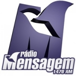 Logo da emissora Rádio Mensagem 1470 AM