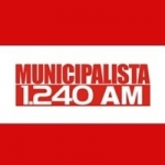 Logo da emissora Rádio Municipalista 1240 AM