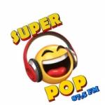 Logo da emissora Rádio Super Pop FM