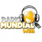 Logo da emissora Rádio Mundial FM