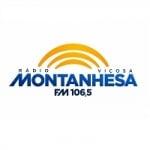 Logo da emissora Rádio Montanhesa 106.5 FM