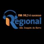 Logo da emissora Rádio Regional 98.5 FM