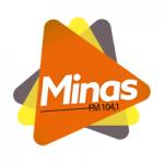 Logo da emissora Rádio Minas 104.1 FM
