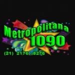 Logo da emissora Rádio Metropolitana 1090 AM