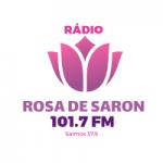 Logo da emissora Rádio Rosa de Saron