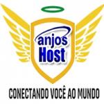 Logo da emissora Rádio Anjos Host
