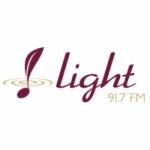 Logo da emissora Rádio Light 91.7 FM