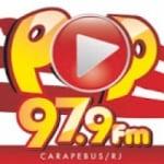 Logo da emissora Pop FM
