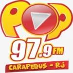 Logo da emissora Rádio Pop 97.9 FM