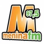 Logo da emissora Rádio Menina 97.5 FM