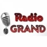 Logo da emissora Rádio Grand FM