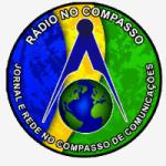 Logo da emissora Rádio No Compasso