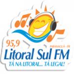 Logo da emissora Rádio Litoral Sul 95.9 FM