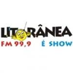 Logo da emissora Rádio Litorânea 99.9 FM