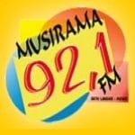 Logo da emissora Rádio Musirama 92.1 FM