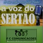 Logo da emissora Web Rádio A Voz Do Sertão