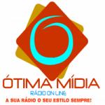 Logo da emissora Rádio Ótima Mídia