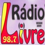 Logo da emissora Rádio Livre 98.7 FM
