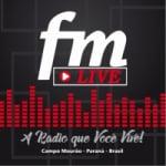 Logo da emissora Rádio Live FM