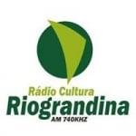 Logo da emissora Rádio Cultura Riograndina 740 AM