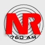 Logo da emissora Rádio Nereu Ramos 760 AM