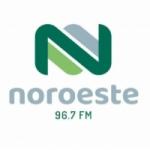 Logo da emissora Rádio Noroeste 96.7 FM