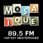 Logo da emissora Radio Mosaique 89.5 FM