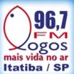 Logo da emissora Rádio Logos 96.7 FM