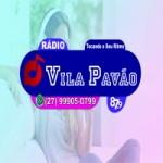 Logo da emissora Vila Pavão FM