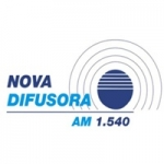 Logo da emissora Rádio Nova Difusora 1540 AM
