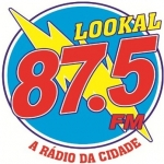 Logo da emissora Rádio Lookal 87.5 FM
