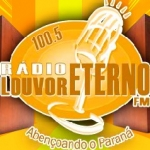 Logo da emissora Rádio Louvor Eterno