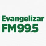 Logo da emissora Rádio Evangelizar 99.5 FM